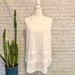 NWT $80 Micheal by Michael Kors Sleeveless Top